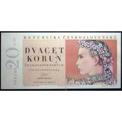 Czechoslovakia - 20 Korun 1949/50 Specimen