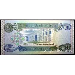 Iraq - 1 Dinar 1984