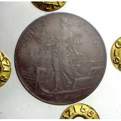 Vitt. Eman. III - 2 Cent 1910 R