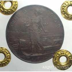 Vitt. Eman. III - 5 Cent 1909 NC