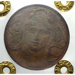 Vitt. Eman. III - 20 Cent 1906 Esp. Mil.