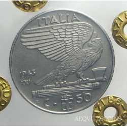 Vitt. Eman. III - 50 Cent 1943