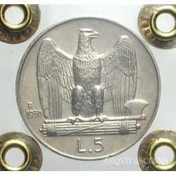 Vitt. Eman. III - 5 Lire 1930 BLD