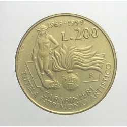 200 Lire 1999 - Carabinieri