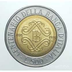 500 Lire 1993 II tipo