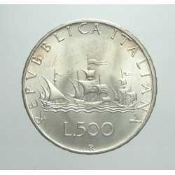 500 Lire 1967 - Argento Caravelle