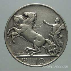 Vitt. Eman. III - 10 Lire 1929 2 R.