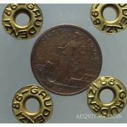Vitt. Eman. III - 1 Cent Prora 1908 R2