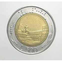 500 Lire 1985 - Firma Piccola