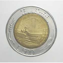 500 Lire 1986