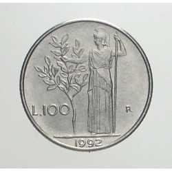 100 Lire 1992 FDC