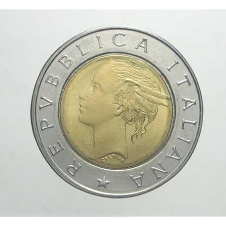 500 Lire 1991 - Testa Piccola