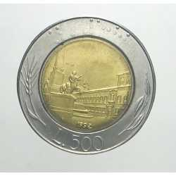 500 Lire 1992
