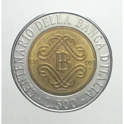 500 Lire 1993 - I° Tipo