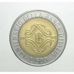 500 Lire 1993 - II° Tipo