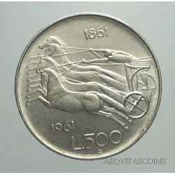500 Lire 1961 Unità