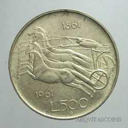 500 Lire 1961 Unita