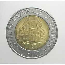 500 Lire 1996 - Istat