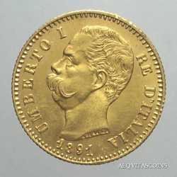 Umberto I - 20 Lire 1891
