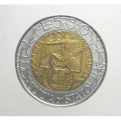 500 Lire 1997 - Polizia