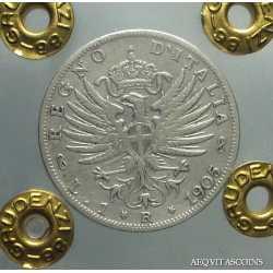 Vitt. Eman. III - 1 Lira 1905 RR