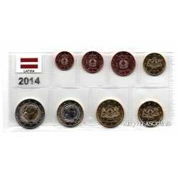Lettonia - Serie Euro 2014