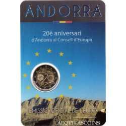 Andorra - 2 Euro Comm. 2014