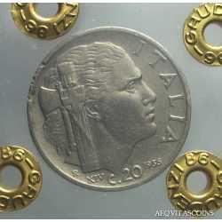 Vitt. Eman. III - 20 cent 1936 Imp
