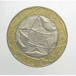 1000 Lire 1997 - II° Tipo