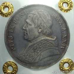 Stato Pontificio - 5 Lire 1870
