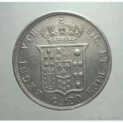 Napoli - 120 Grana 1853