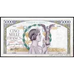 France - 5000 Francs 1941