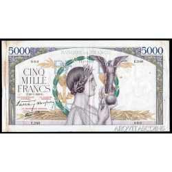 France - 5000 Francs 1939