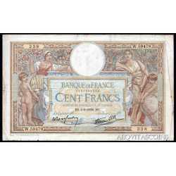 France - 100 Francs 1938