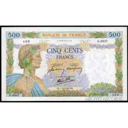 France - 500 Francs 1942