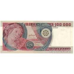 100.000 Lire Botticelli 1980