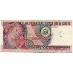 100.000 Lire Botticelli 1978