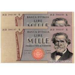 1000 Lire Verdi 1971