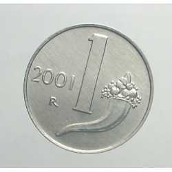 1 Lira 2001