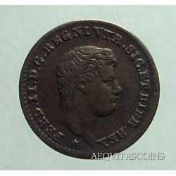 Napoli - 1/2 Tornese 1833