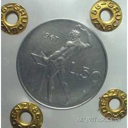 50 Lire Vulcano 1967 FDC