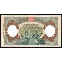 5000 Lire 1959 Rep. Marinare