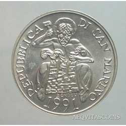 San Marino - 1000 Lire 1991