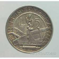 San Marino - 5 Lire 1935