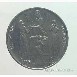 Vaticano - 100 Lire 1968