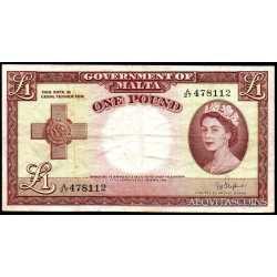 Malta - 1 Pound 1949