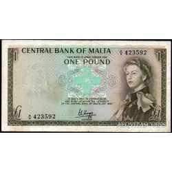 Malta - 1 Pound 1967
