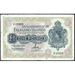 Falkland - 1 Pound 1977