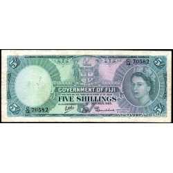 Fiji - 5 Shillings 1965