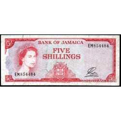 Jamaica - 5 Shillings 1964